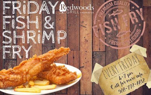 Friday Fish & Shrimp Fry at Prescott Golf Club, Dewey