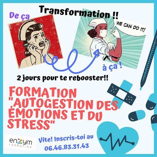 Formation Gestion du stress et des motions  Montpellier
