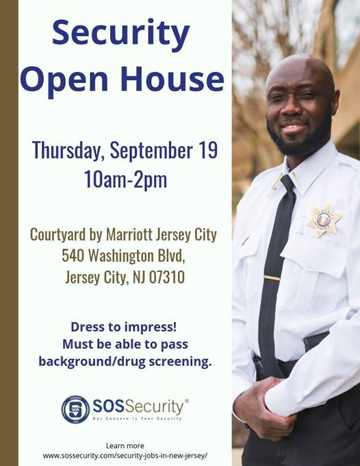 Security Jobs In Nj >> Security Open House At 540 Washington Blvd Jersey City Nj