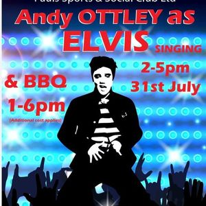 An Afternoon with Elvis - Andy Ottley Elvis Tribute