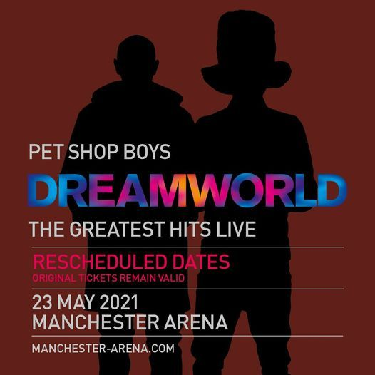Pet Shop Boys, 23 May | Event in Manchester | AllEvents.in