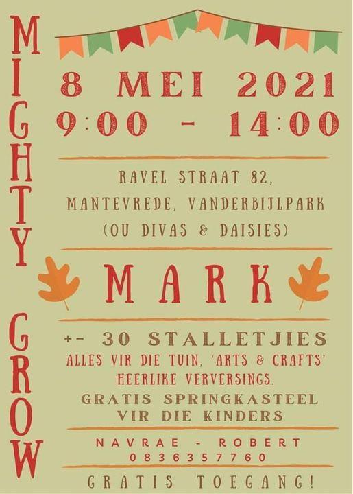 Mighty Grow Mark | Event in Vanderbijlpark | AllEvents.in