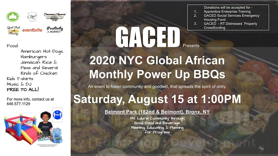 2020 Nyc Global African Monthly Power Up Bbq At Belmont Playground The Bronx