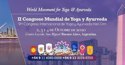 II Congreso Mundial de Yoga y Ayurveda