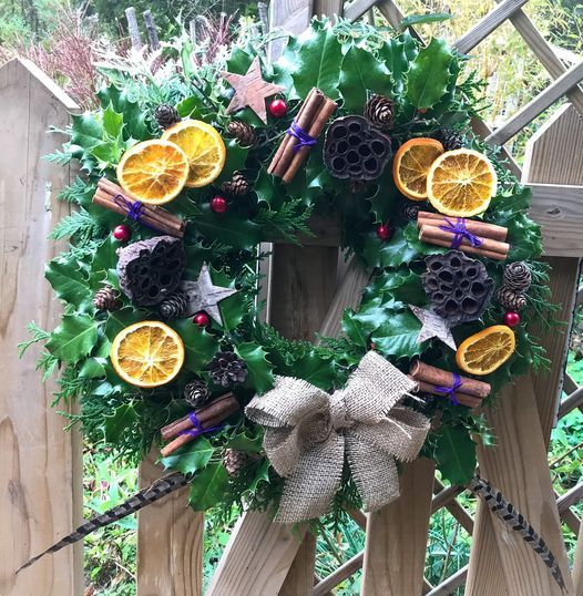 Christmas Wreath Making Workshop, 12 December   Event in Chichester   AllEvents.in