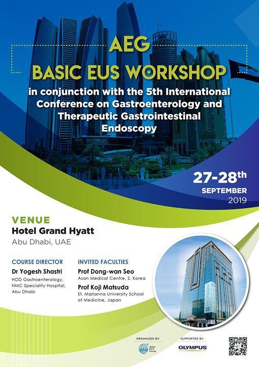 AEG Basic EUS workshop at Abu Dhabi UAE, Abu Dhabi