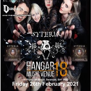 Syteria with support from Scarsun Dark Valley & And The Sky Darkened