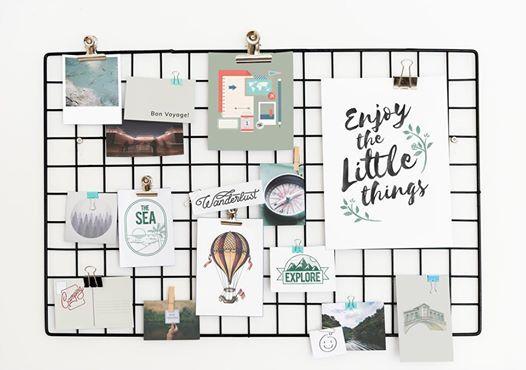 Mood board brand image workshop