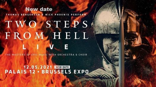 New date: Two Steps From Hell | 2021 Palais 12, 12 May | Online Event | AllEvents.in