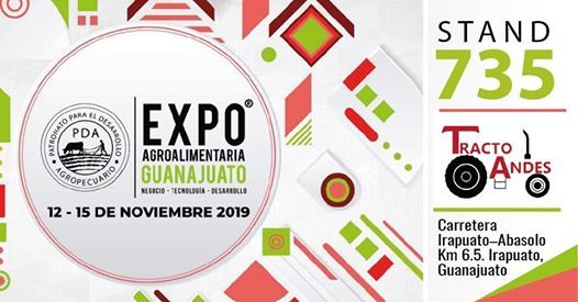 Expo Agroalimentaria Irapuato 2019 STAND 735 Tractoandes