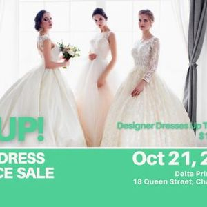 Charlottetown Pop Up Wedding Dress Sale