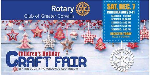 Benton County Fair 2020.Childrens Holiday Craft Fair At Benton County Event Center