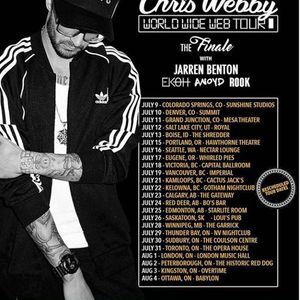 Chris Webby at NV Music Hall - Thunder Bay (ON) - May 8th 21
