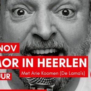 Humor in Heerlen - Met Arie Koomen (De Lamas)