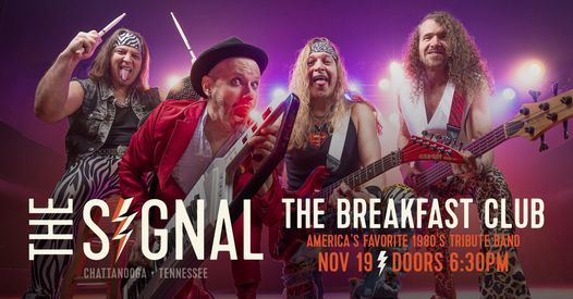 The Breakfast Club, 19 November | Event in Chattanooga | AllEvents.in
