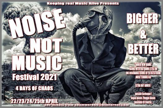Noise not music fest 2021, 22 April   Event in Birmingham   AllEvents.in