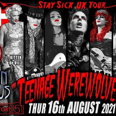 Teenage Werewolves(The Cramps tribute)Shes In Bauhaus MANCHESTER
