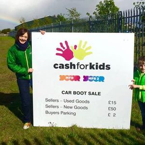 MFR Cash for Kids Car Boot Sale Supported by Parks Motor Group
