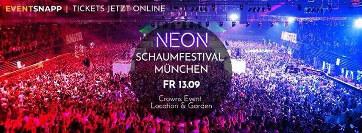 Neon Schaumfestival Mnchen