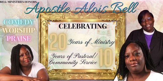 Bell's Ministry Honors Celebrating 20 Years of Service, 15 October   Event in St. Louis   AllEvents.in
