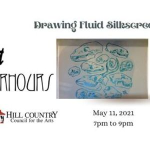 Drawing Fluid Silkscreen  - Art After Hours - Boerne