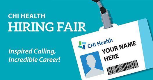 Hiring Fair at CHI Health Good Samaritan