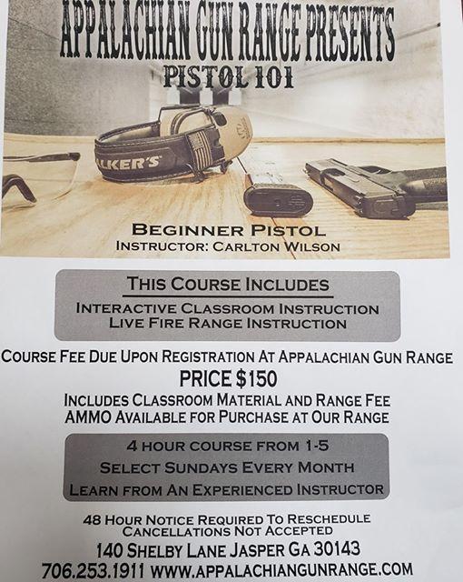 Basic Pistol 101