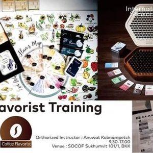 Secret Key of Flavor  Coffee Flavorist Training June