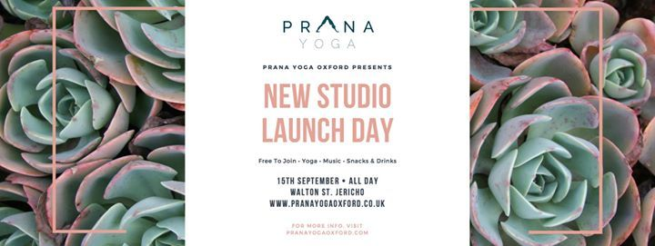 Prana Yoga New Studio Opening Day