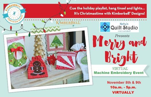Kimberbell's Merry & Bright, 7 November | Online Event | AllEvents.in