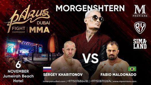 MMA: PaRus Fight Championship 2021 feat Morgenshtern, 6 November | Event in Dubai | AllEvents.in