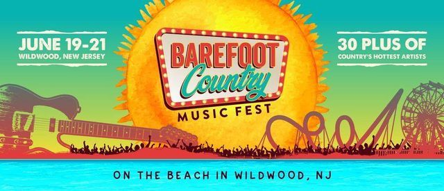 Barefoot Country Music Festival - Wildwood, 17 June | Event in Raipur | AllEvents.in