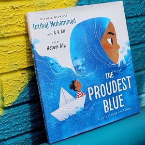 """English-Arabic Storytime Online &quotThe Proudest Blue"""""""