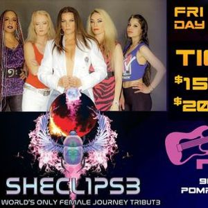 Sheclipse - All Female Journey Tribute Band at Pipers