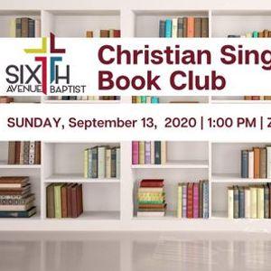 Sixth Avenue Christian Singles Book Club Meeting