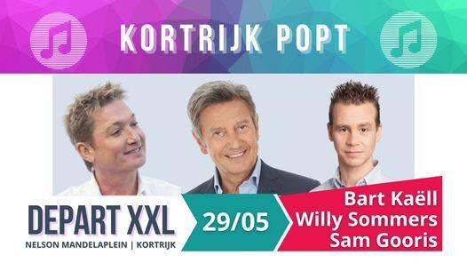 Kortrijk Popt: Bart Kaëll, Willy Sommers, Sam Gooris - DepartXXL, 29 May   Event in Kortrijk   AllEvents.in