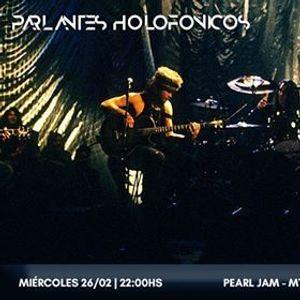 Pearl Jam - Mtv Unplugged en Parlantes Holofnicos