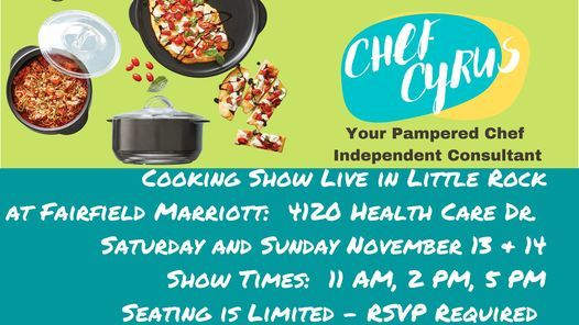 Little Rock Cooking Show Live!, 13 November | Event in Little Rock | AllEvents.in