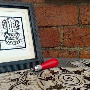 Introduction to Lino Printing with Dave Elsom