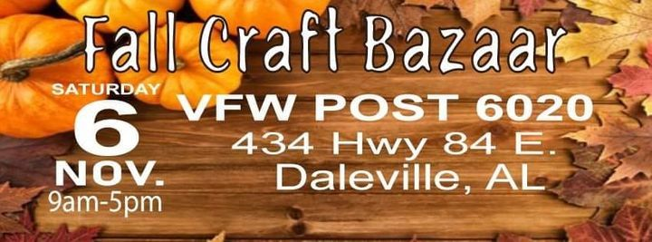 Fall Craft Bazaar, 6 November | Event in Daleville | AllEvents.in