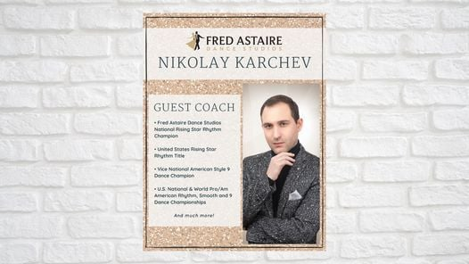 Guest Coach - Nikolay Karchev | Event in Houston | AllEvents.in