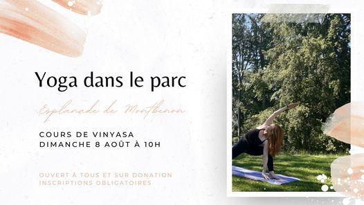 YOGA DANS LE PARC Lausanne #11, 8 August | Event in Lausanne | AllEvents.in