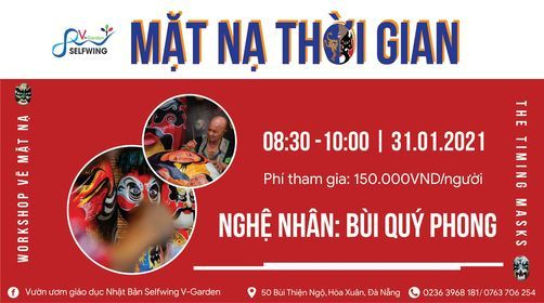 Workshop vẽ mặt nạ: Mặt Nạ Thời Gian, 27 February | Event in Danang | AllEvents.in