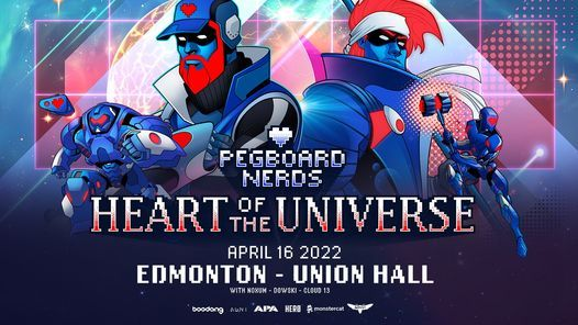New Date - Pegboard Nerds  Union Hall