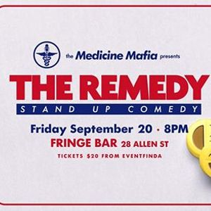 The Remedy Stand-up Comedy - September