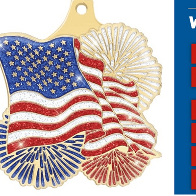 Run with HEART - July 4th Virtual 5K (with Medal)