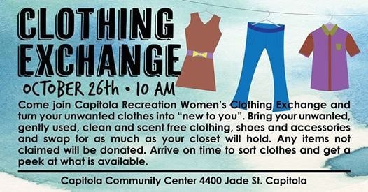 Capitola Recreation Clothing Exchange | Capitola