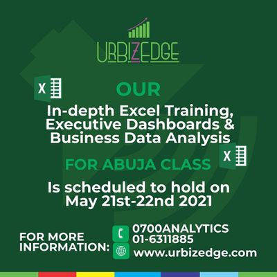 In-depth Excel Training Executive Dashboards & Business Data Analysis