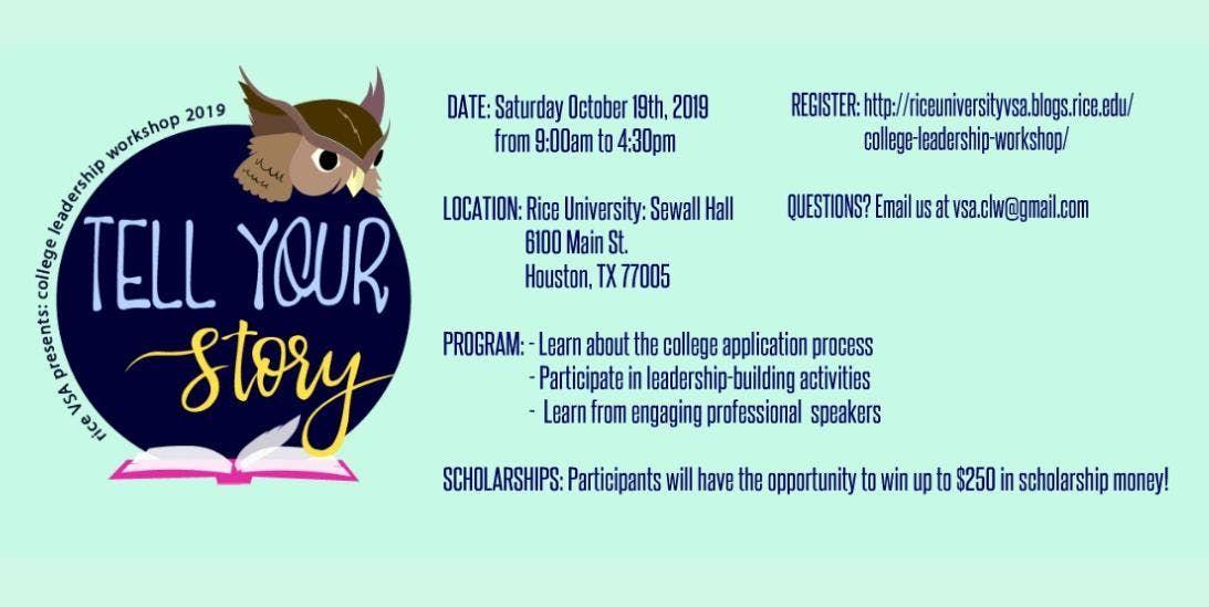 College Leadership Workshop (CLW) 2019