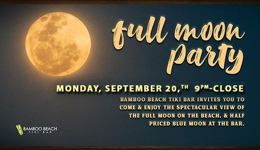 Full Moon Party on The Beach, 20 September   Event in Fort Lauderdale   AllEvents.in